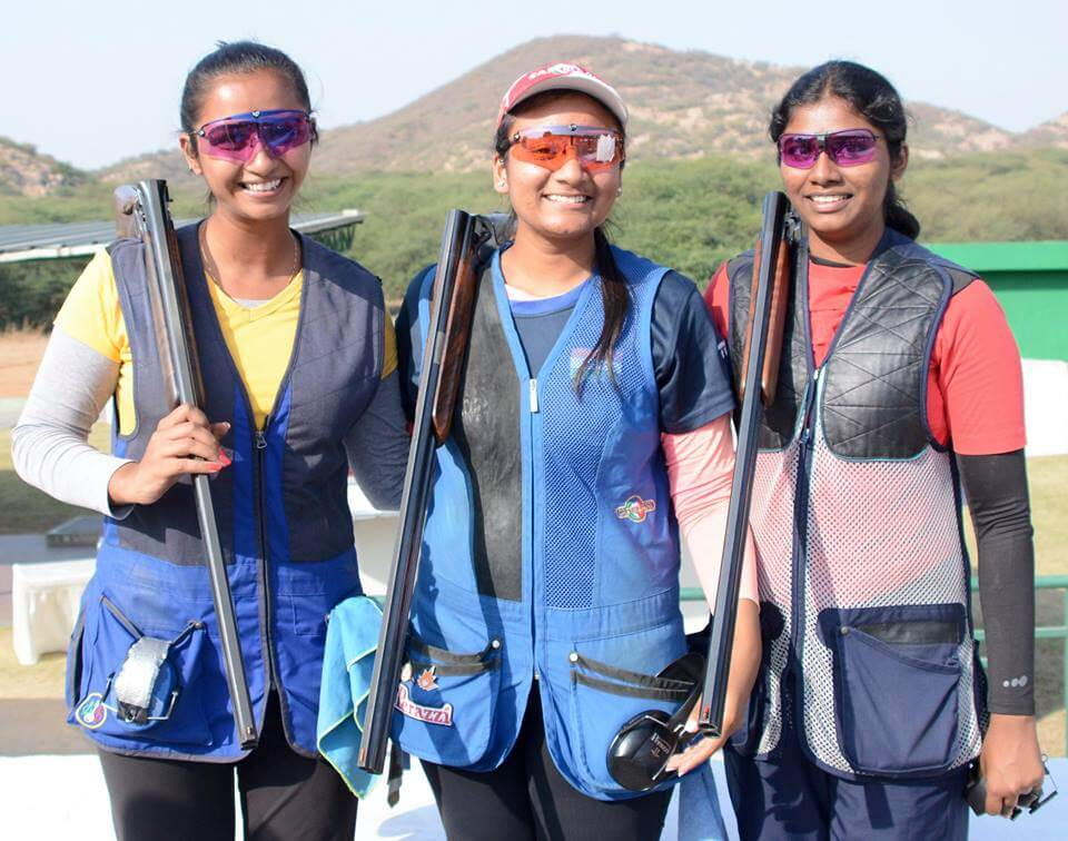 From Left: Sajneet Rehal, Soumya Gupta & N. Nivetha